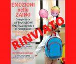 Leggi tutto: RINVIO SEMINARIO DI FORMAZIONE