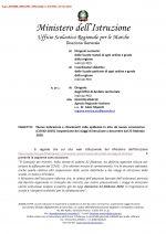 Leggi tutto: Coronavirus - Circolare Ufficio scolastico Regionale