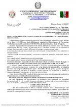 """Leggi tutto: GESTIONE CASI COVID-19 PLESSO SCUOLA PRIMARIA """"M.T. DI CALCUTTA"""" MONTELUPONE."""